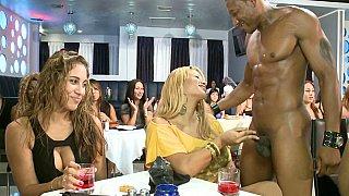 Biggest bachelorette blowjob party