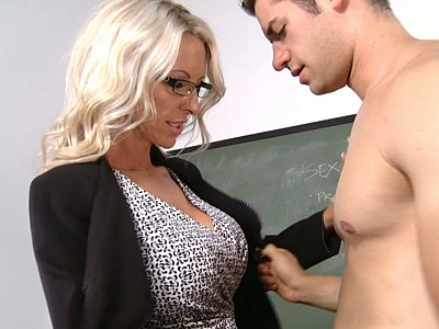 Mature Professor Starr