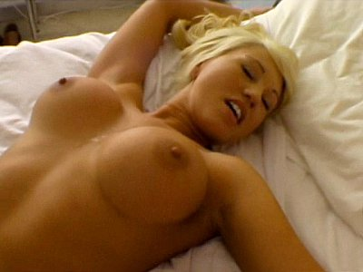 Super hot blonde maid gets fucked