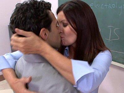 Professor Magdalene St. Michaels turns into a slut