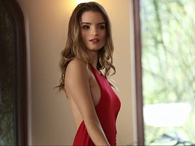 Posing Playboy beauty Roos Van Montfort
