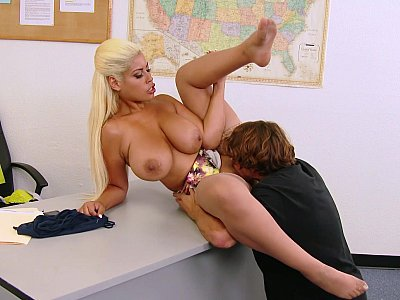 To get her panties, he has to fuck her!