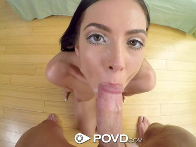 Eat Marley's pussy in POV