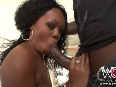 WCP CLUB First time Anal Ebony Jayden