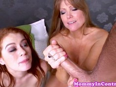 Ginger Alice getting help from stepmom