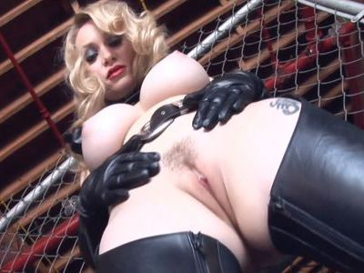 Aiden showing her new slave the ropes