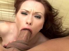 Katja Kassin throatfucked
