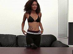 21 yo coffee skin with a tight, petite, flawless body