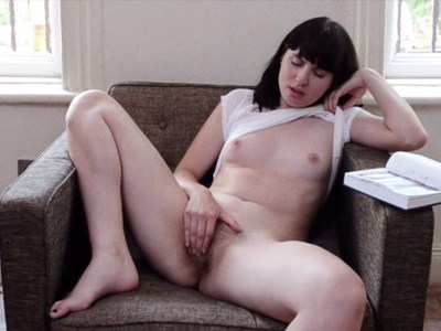 Lustful Mormon girl masturbates in apartment