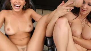 Holly Michaels and Lily Love
