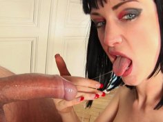Sofias life depends on sucking big cocks