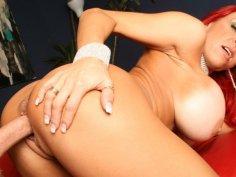 Enjoy mature redhead Whitney Wonders pounding