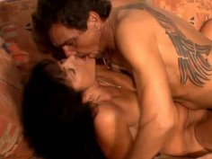 Horny couple gets it on