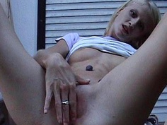 Outdoor homemade sex video