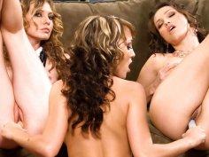 Gorgeous lesbian action