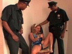 Cop Threesome