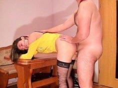 Enjoying girlfriend's amateur pussy