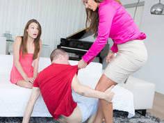 mother intervenes