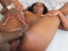 She felt that dick in her ribs