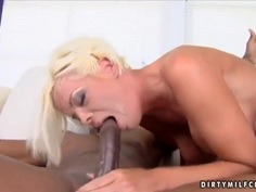 Jordan Blue has sex with hot black fellow