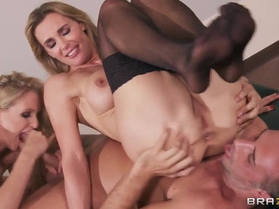 Julia Ann, Keiran Lee, Tanya Tate threesome