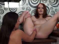 Dirty fisting with Denisa Heaven and Iwia