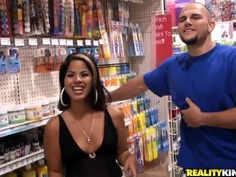Charming Latina Jasmine Blaze appeals to Jmac's heart