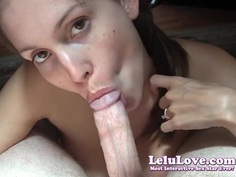 Lelu Love-Humiliating POV Blowjob Facial