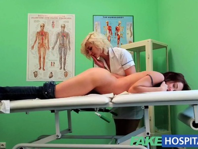 FakeHospital Naughty nurse heal patient with her tongue