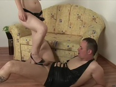 Reverse Cowboy Anal - She Wears the Cock
