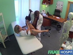 FakeHospital Naughty blonde nurse gets doctors cock