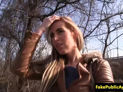 Tricked euro cumswallows during fake casting