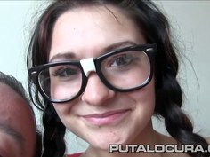 Young Czech teen with pigtails fucked by Torbe