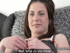 Business man fucks horny milf until creampie