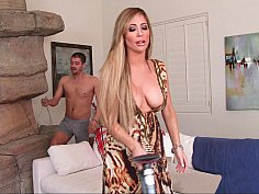 Naughty son vs Daddy's hot hoe