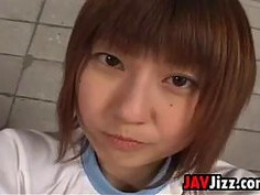 Asian Cutie With A Hairy Pussy