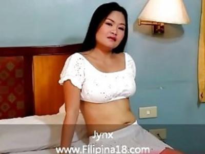 性感的菲律宾新人爱上他妈的