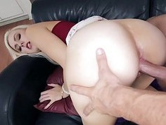 Blondie Alexa gets filled in missionary