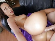 This horny girlie has got indeed and wet curves