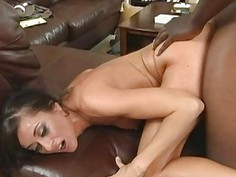 Big black cock for Cecilia Vega
