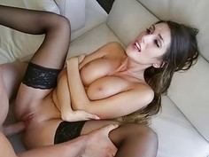 Big titted sexy chick August Ames
