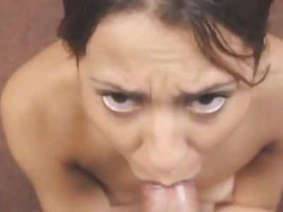 FakeProducer Tricks Petite Latina Into A Blowjob