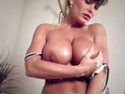 Lisa Ann Big Soapy MILF Tits