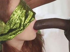 The biggest humongous black cock Alice had ever seen