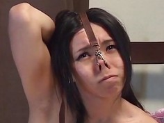 Extreme Japanese BDSM hot wax play subtitled