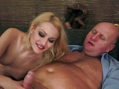 Horny Grandpas and Sexy Teen Blondes