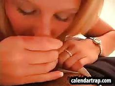 She gets face fucked and fingered