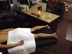 Massage Followed By A Fuck
