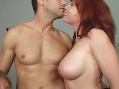 Brittany O'Connell and Erin Chase share cock