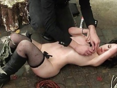 Bizarre humiliation and strict whipping of amateur